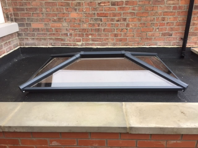 flat roof lanterns derby
