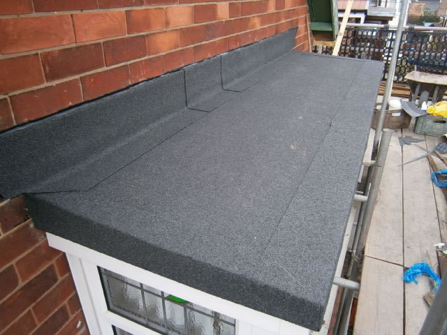 flat roofing derby